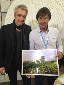 avec Nicolas Hulot